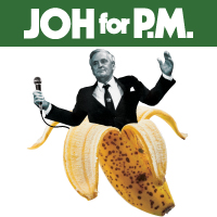 JUTE Theatre Company's Joh for PM by Stephen Carleton & Paul Hodge