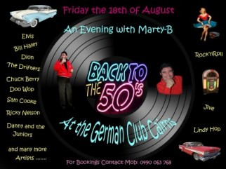 An Evening with Marty-B