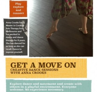 Get A Move On: Creative Dance Sessions with Anna Crooks