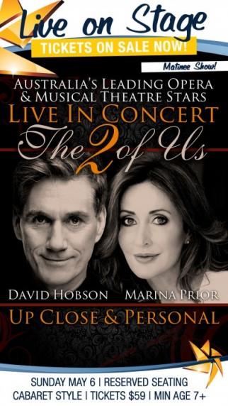 MARINA PRIOR & DAVID HOBSON - Live in Concert