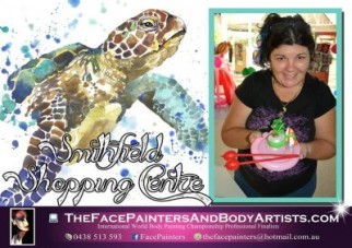 the Face Painters and Balloon Benders