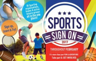 Sports Sign On - throughout Feb - Mt Sheridan Plaza