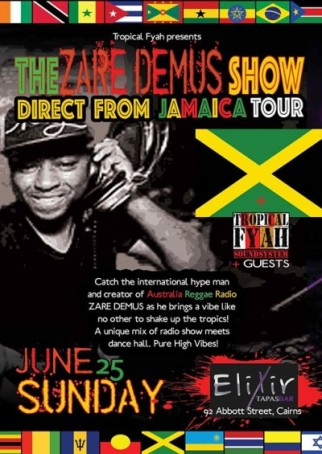 The ZARE DEMUS show-direct from Jamaica tour
