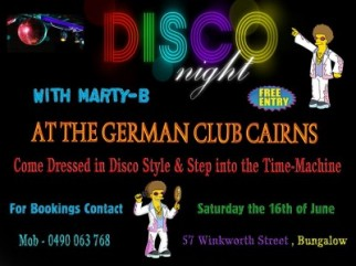 Disco Fever with Marty-B