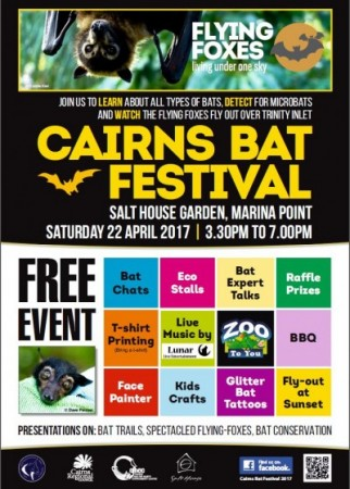 Cairns Bat Festival 2017