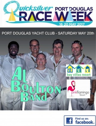 Al Boulton Band at Raceweek Port Douglas