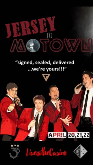 JERSEY2MOTOWN LIVE@THECASINO
