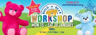 Build-a-bear Workshops are back at Mt Sheridan Plaza this January!