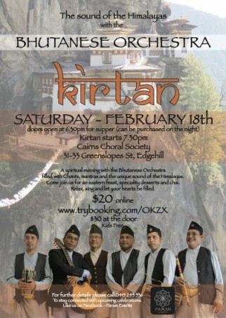 Kirtan with the Bhutanese Orchestra