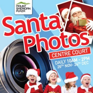Santa Photos at Mt Sheridan Plaza