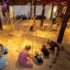 Bamboo Connect - Building Bridges by Co-Lab