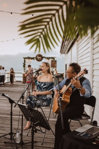 Cairns Wedding Reception Entertainment: Duo & DJ