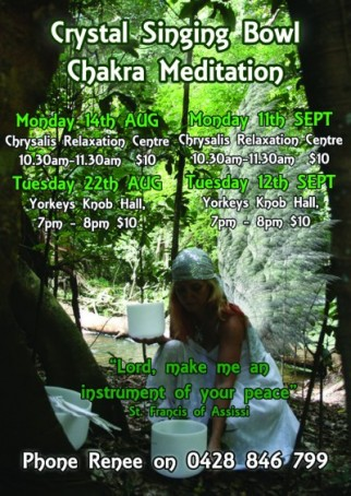 Crystal Chakra Meditation | Entertainment Cairns