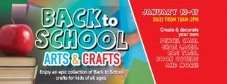 Back to School Arts and Crafts at Mt Sheridan Plaza (Free)