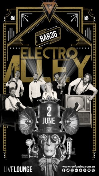 ELECTRO ALLEY LIVE@THECASINO