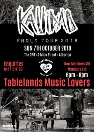 KALLIDAD - FNQLD Tour 2018