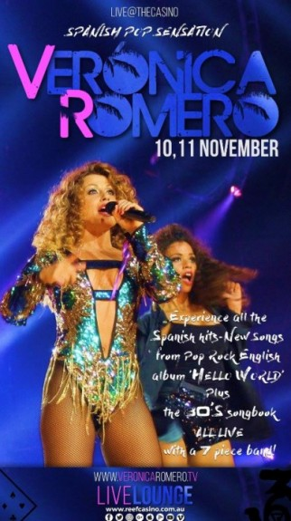 VERONICA ROMERO LIVE@THECASINO