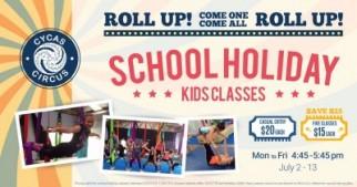School Holiday Circus Classes