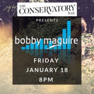 Bobby Maguire live at Conservatory Bar