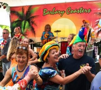 Barbary Coasters' Parrothead Show