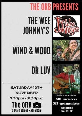 The Wee Johnny's, Wind & Wood, Dr Luv