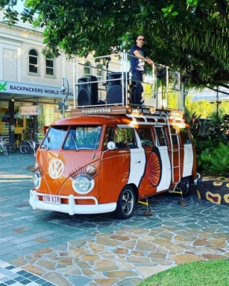 Waking Ugly on the Cotton Club Kombi