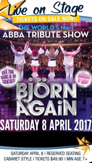 BJORN AGAIN - The Worlds Number 1 Abba Tribute Show!