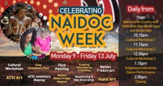 Celebrating Naidoc Week at Mt Sheridan Plaza!
