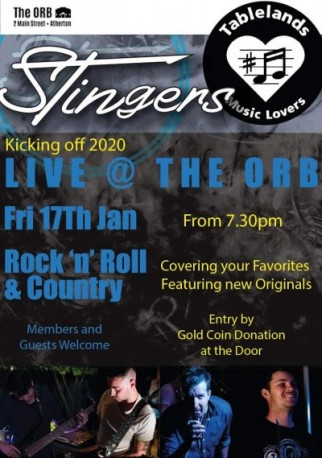Stingers Live at the ORB