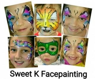 Free facepainting at Cazalys