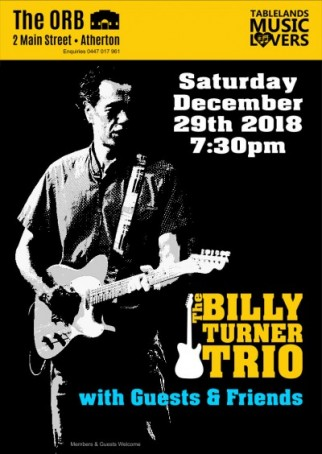 Billy Turner Trio with Guests & Friends