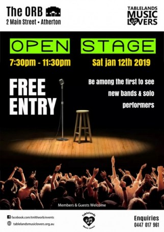 OPEN STAGE