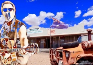 That  Rockabilly Guy  @  Mountain View Hotel north Qld Australia