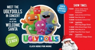 Ugly Dolls Show & Santa's Arrival at the Plaza (Free)