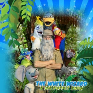 The White Wizard and his Puppet Show - Free at Mt Sheridan Plaza