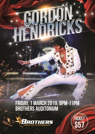 Gordon Hendricks is Elvis