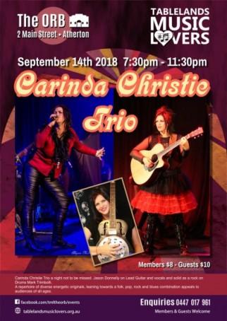 Carinda Christie Trio
