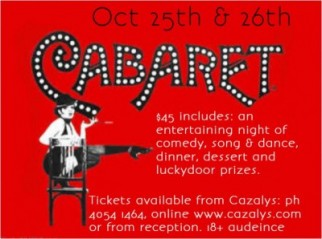Dinner and Cabaret Show