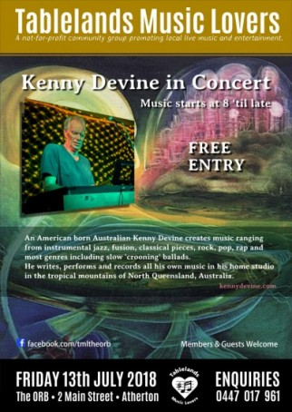 Kenny Devine in Concert at the ORB