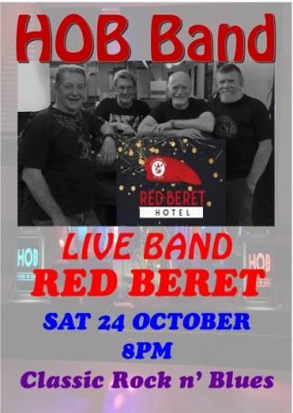 HOB Band @ Red Beret