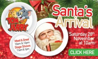 Tom and Jerry Stage Show & Santa's Arrival