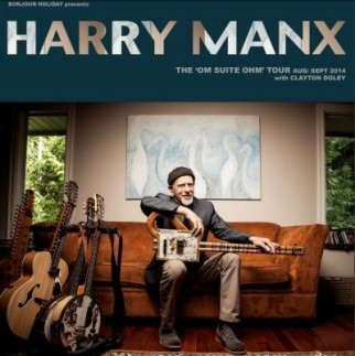 Harry Manx: The 'Om Suite Ohm' tour with Clayton Doley