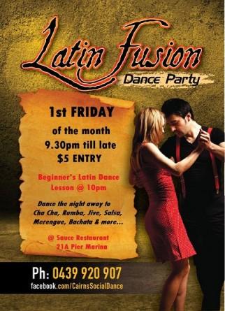 Salsa dancing cairns