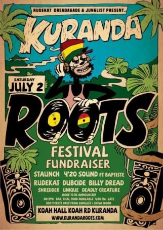 Kuranda Roots Festival Fundraiser