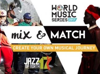 Tanks Jazz Up North & World Music Series Subscripition