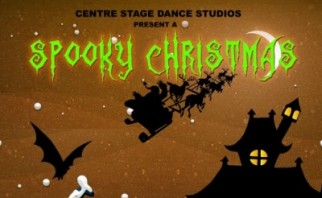 Centre Stage Dance Studio Presents: A Spooky Christmas ... on the pumpkin dance, the bee dance, the rabbit dance, the bear dance, the snake dance, the dog dance, the worm dance, the dagger dance, the orc dance, the dolphin dance, the deer dance, the tiger dance, the hat dance, the butterfly dance, the dragon dance, the bird dance, the hippo dance, the duck dance, the ball dance, the crab dance,