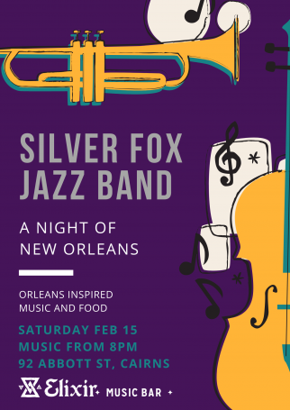 Silver Foz Jazz Band - A Night of New Orleans