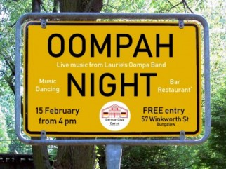 Oompah Night in the German Club