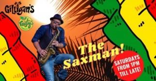ONE LOVE SATURDAYS - ft THE SAX MAN + DJ ALEXANDR!