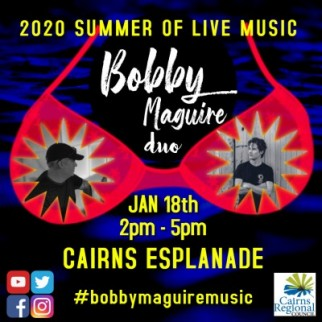 Bobby Maguire DUO live on Cairns ESPY